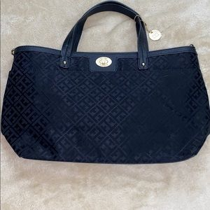 Tommy Hilfiger Black Logo Tote Bag